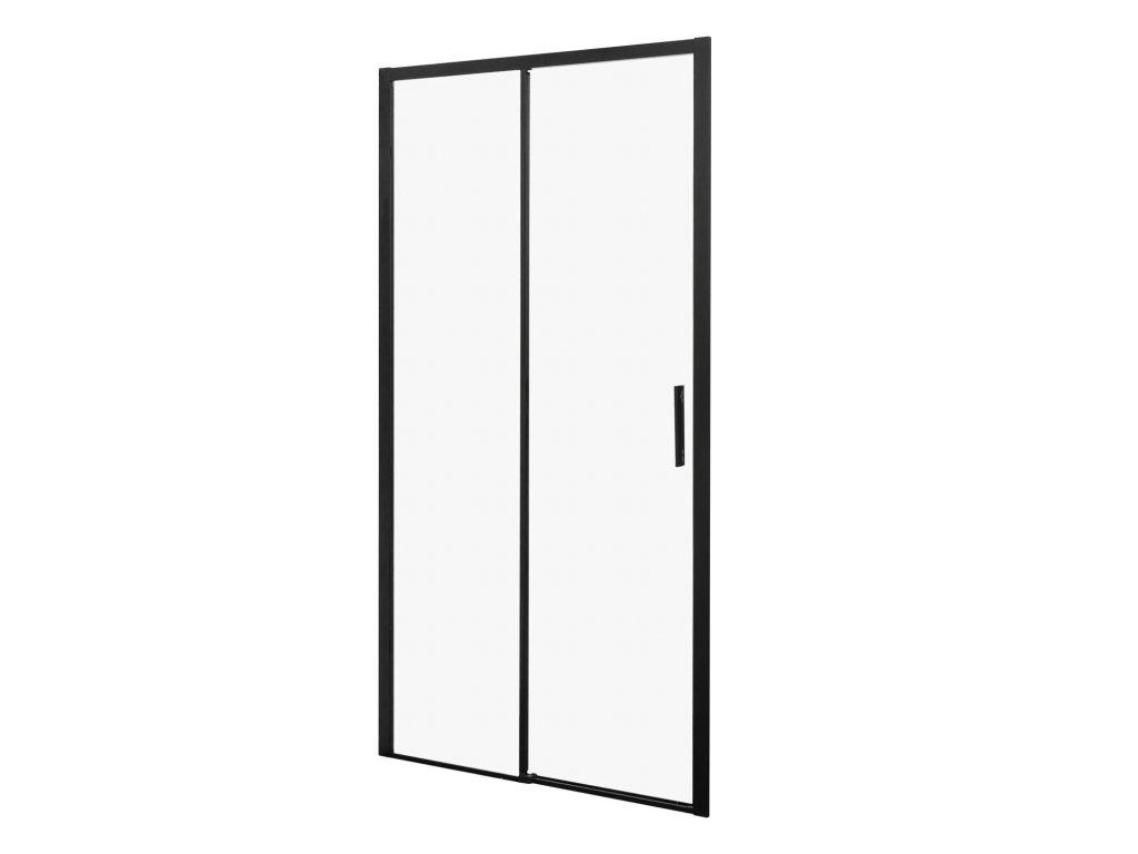 Black Edition Silves sprchové dveře 100x190 (Šířka dveří 100 cm)