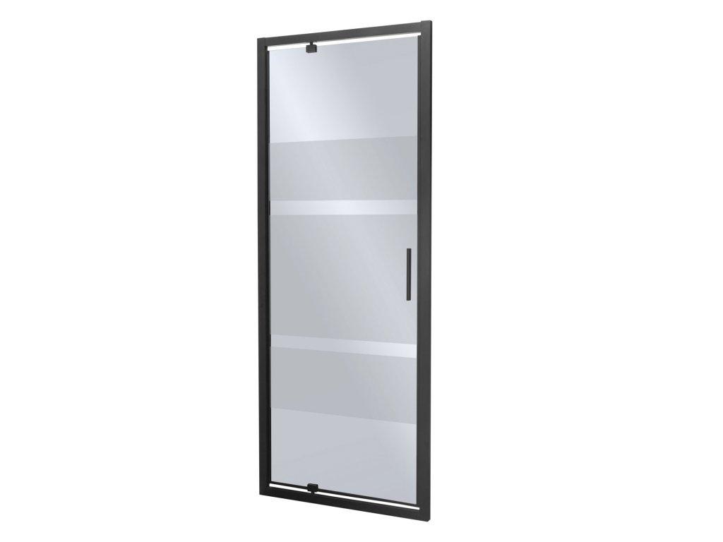 Black Edition Tomar sprchové dveře 80x190, 90x190 (Šířka dveří 80 cm)