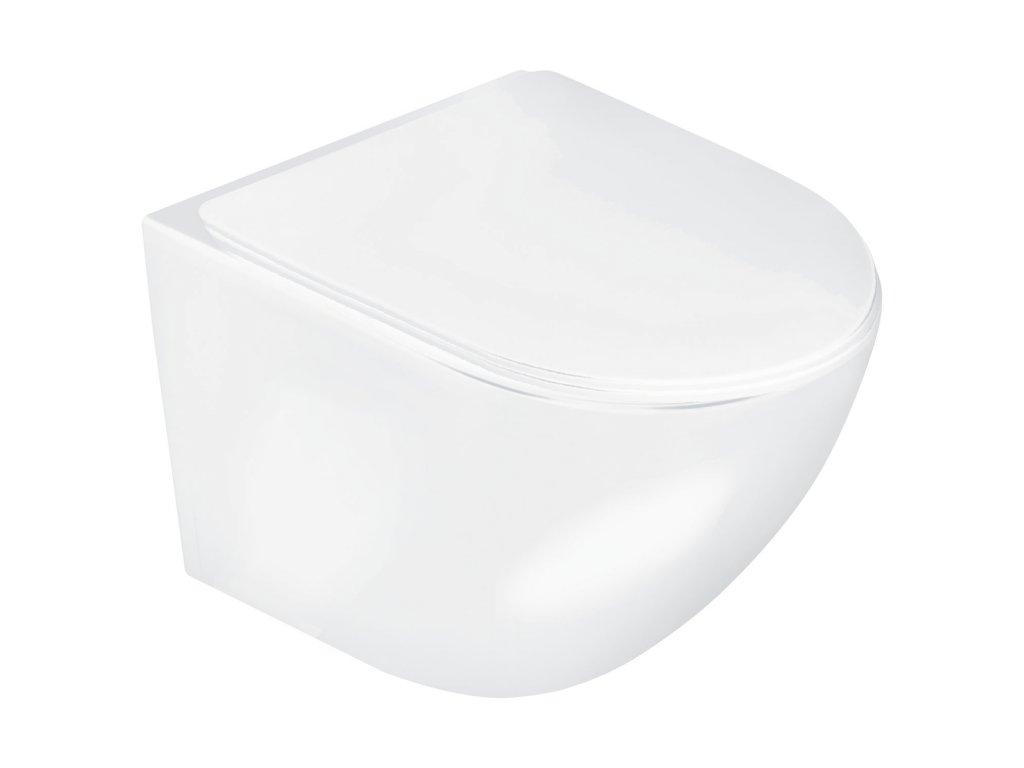 4453 aplomo delos white wc zavesne rimless