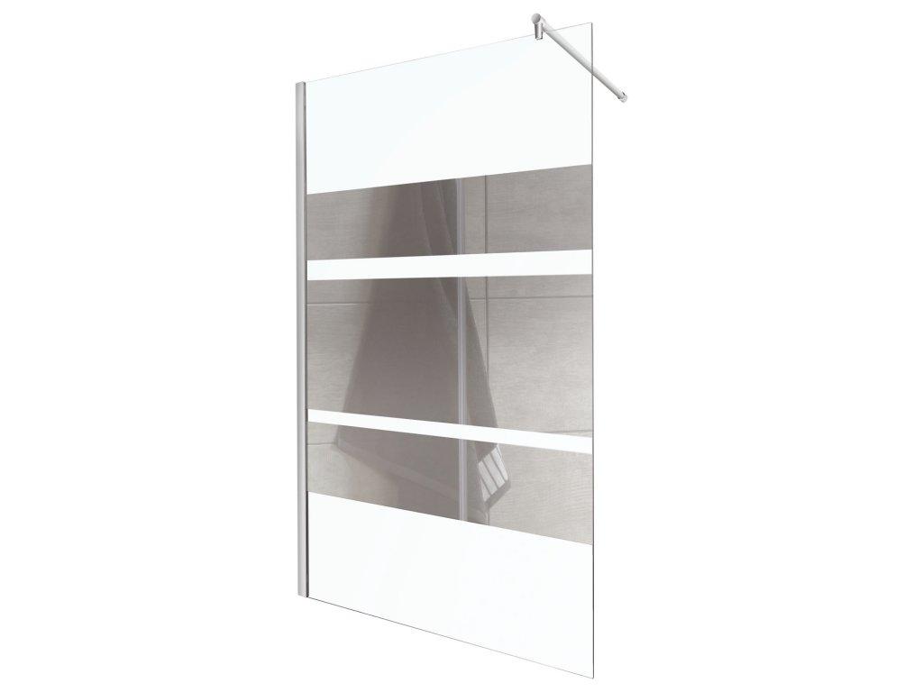 Aplomo Flash 100 Walk In sprchový kout (Šířka dveří 100 cm)