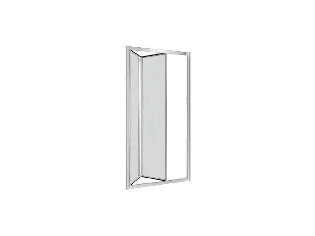 Aplomo Harmony 90x195 graphite sprchové dveře (Šířka dveří 90 cm)