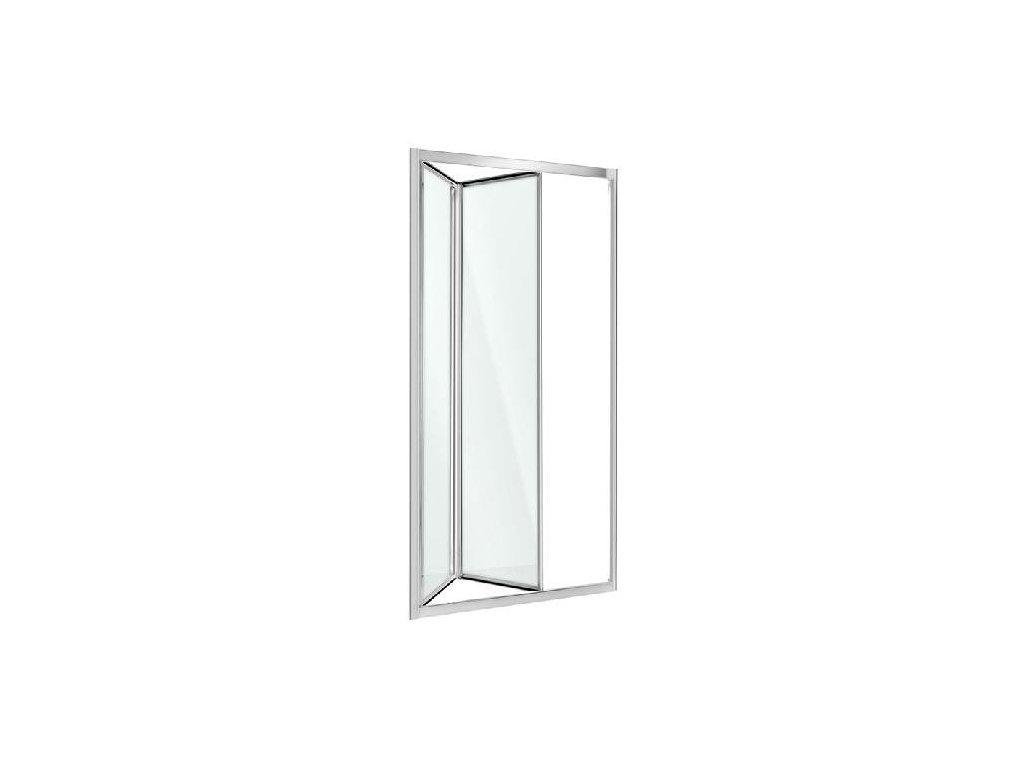 Aplomo Harmony transparent sprchové dveře 80x195, 90x195, 100x195 (Šířka dveří 100 cm)