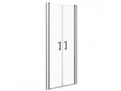 Aplomo Andy sprchové dveře 80x185, 90x185 (Šířka dveří 80 cm)
