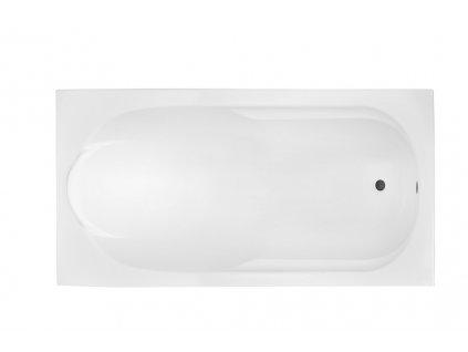 Besco Bona 140x70 akrylátová vana (Délka vany 140 cm)