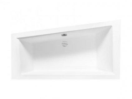 Besco Intima 160x90 akrylátová vana (Délka vany 160 cm, Orientace Levá)