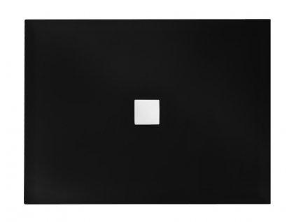 4561 besco nox black 140x90 sprchova vanicka