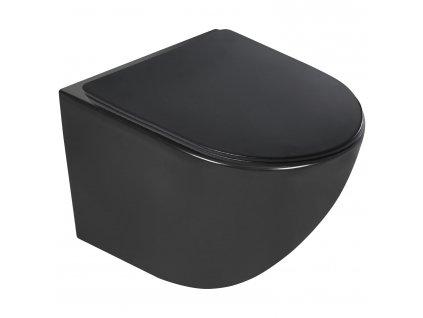 4423 black edition delos wc zavesne rimless