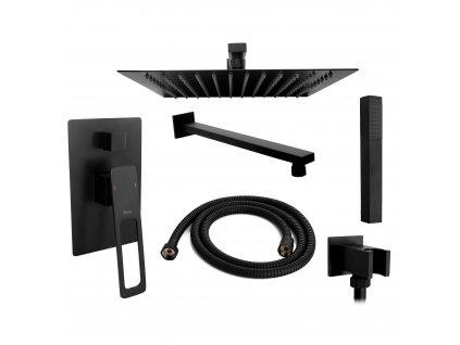 4909 black edition soho podomitkovy sprchovy set