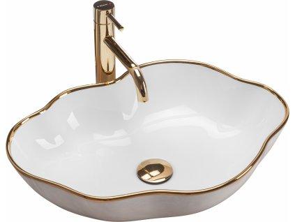4693 gold edition pearl gold umyvadlo na desku