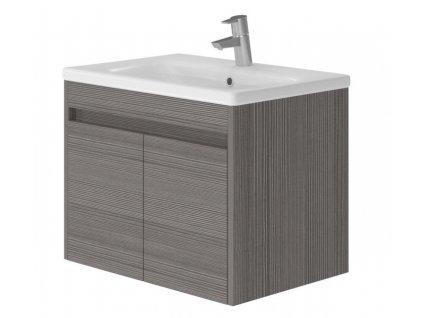 2722 kingsbath columba dark 65 koupelnova skrinka s umyvadlem