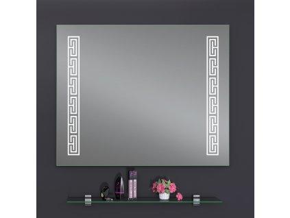 3019 kingsbath decor versa 80x65 podsvicene zrcadlo led