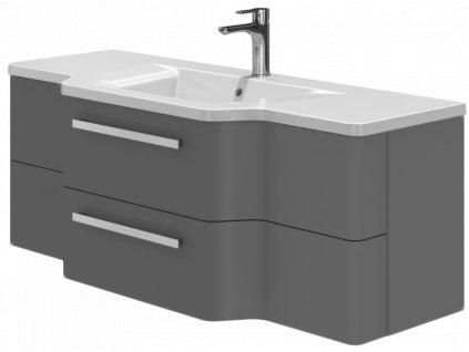 4093 kingsbath levanto grey 128 koupelnova skrinka s umyvadlem