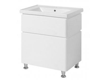 3565 kingsbath lion i 80 white koupelnova skrinka s umyvadlem