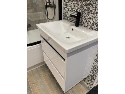 4045 kingsbath luton ii 80 white koupelnova skrinka s umyvadlem