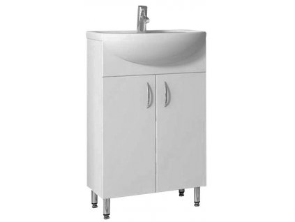 4003 kingsbath lyra 50 koupelnova skrinka s umyvadlem