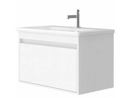 4138 kingsbath malta 80 white koupelnova skrinka s umyvadlem