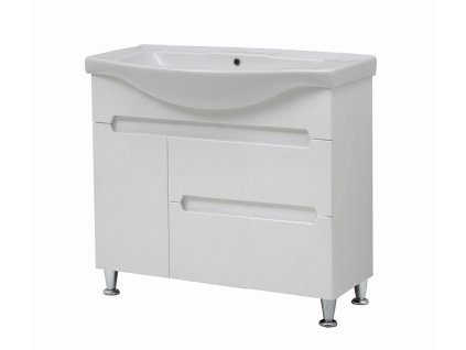4147 kingsbath marco 95 koupelnova skrinka s umyvadlem