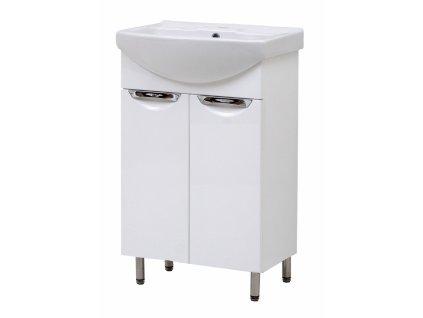 4615 kingsbath oscaro 55 koupelnova skrinka s umyvadlem