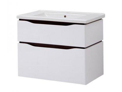 2644 kingsbath senator air 80 koupelnova skrinka s umyvadlem