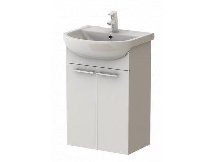 5605 kingsbath serpens 50 koupelnova skrinka s umyvadlem