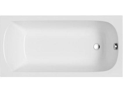 Polimat Classic akrylátová vana 120x70, 130x70, 140x70, 150x70, 160x70, 170x70 (Délka vany 120 cm)