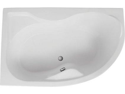 Polimat Dora 170x110 akrylátová vana (Délka vany 170 cm, Orientace Levá)