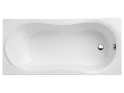 Polimat Gracie akrylátová vana 120x75 (Délka vany 120 cm)