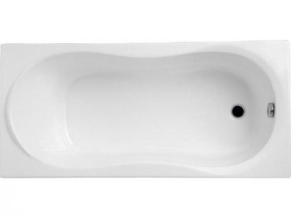 Polimat Gracie akrylátová vana 140x70, 150x70, 160x70, 170x70 (Délka vany 140 cm)