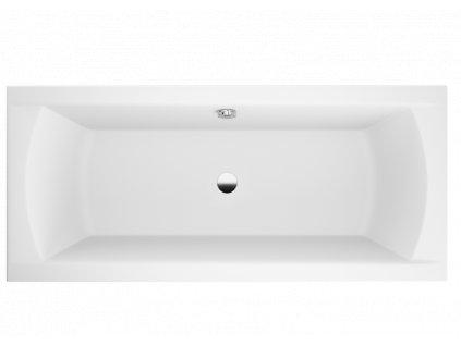 Polimat Ines 170x75 akrylátová vana (Délka vany 170 cm)