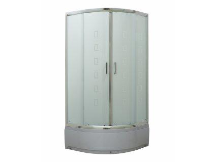 Savana Veduta Alba Plus 80x80 sprchový kout s vaničkou (Rozměr 80x80)