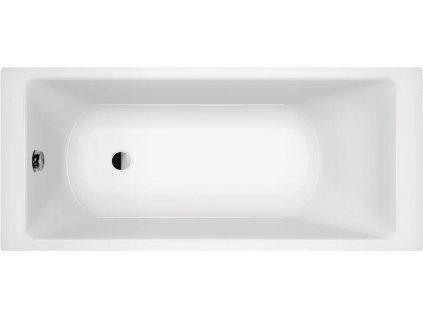 Scansani Borneo Edge 140x70, 150x70, 160x70, 170x70 akrylátová vana (Délka vany 140 cm)