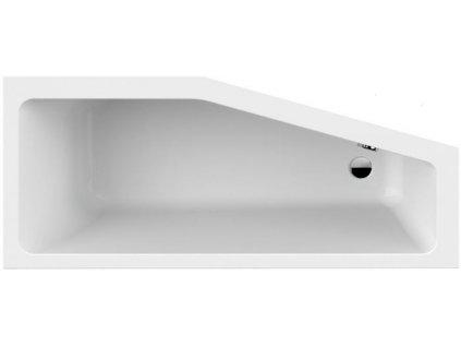 Scansani Keos 160x70 akrylátová vana (Délka vany 160 cm, Orientace Pravá)