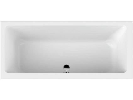 Scansani Keos 170x75 akrylátová vana (Délka vany 170 cm)