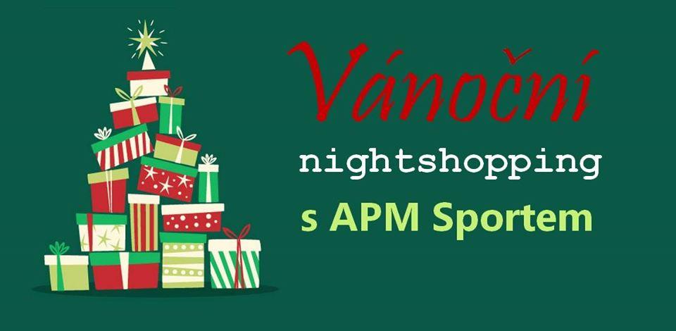 Vánoční nightshopping v APM Sportu