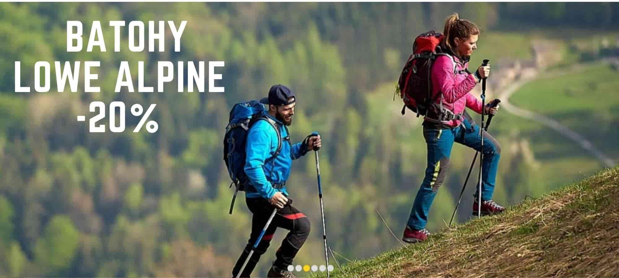 Batohy Lowe Alpine sleva - 20%