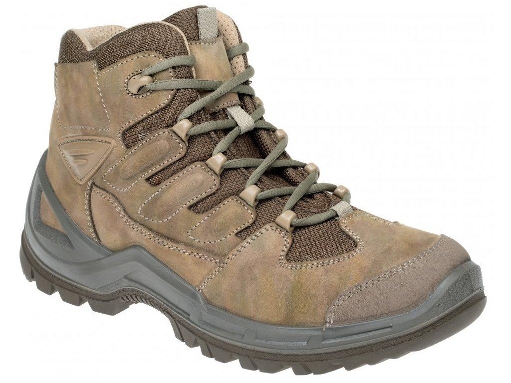 Prabos Beast Ankle trekové boty field camouflage