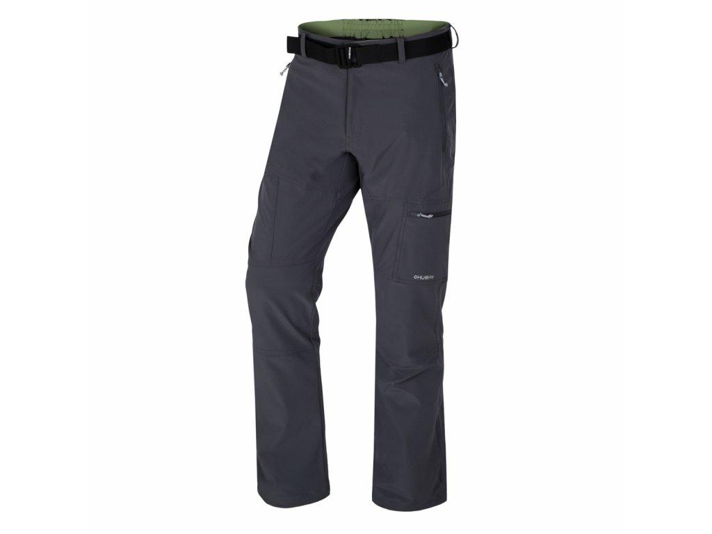 Husky Kauby M pánské outdoorové kalhoty tm.šedé