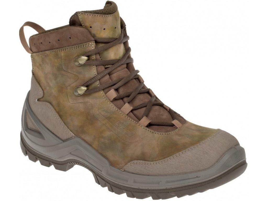 Prabos Vagabund Ankle taktické outdoorové boty field camouflage