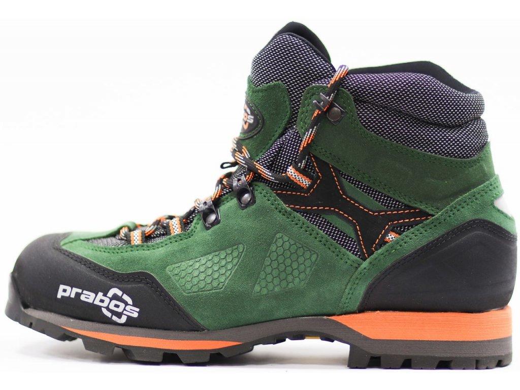 Prabos Acotango GTX trekové boty tm.zelené