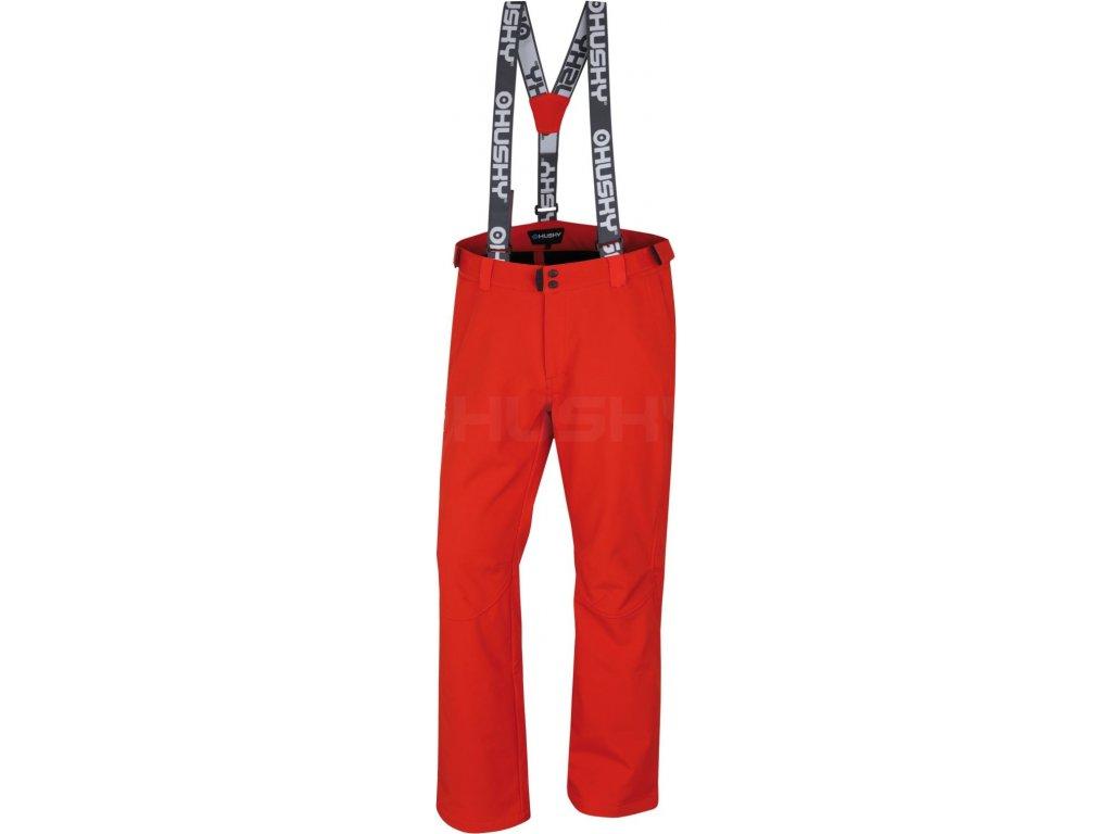 husky-galti-panske-lyzarske-kalhoty-cervene
