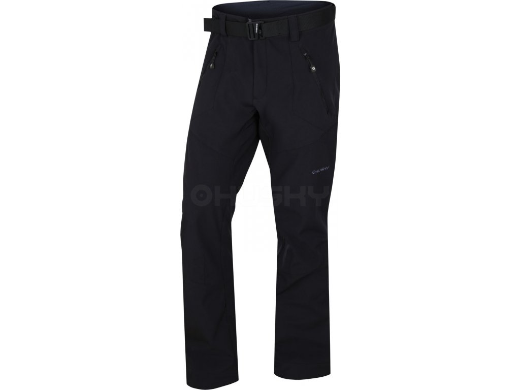 panske-outdoorove-kalhoty-husky-kresi-cerne