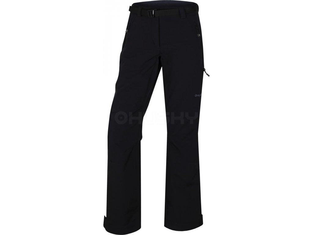 husky-kresi-damske-outdoorove-kalhoty-cerne