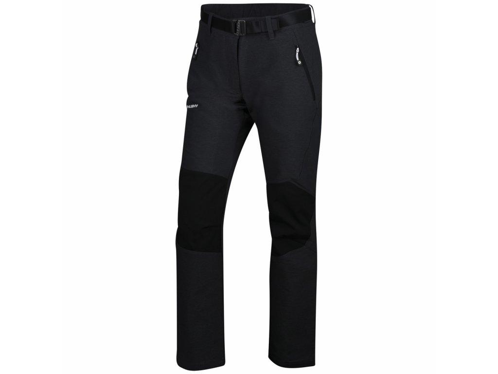 husky-klass-damske-outdoorove-kalhoty-cerne