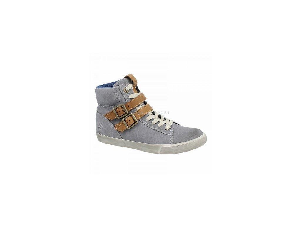 4dad757f9fa TIMBERLAND HITOP dámské kotníkové boty šedé