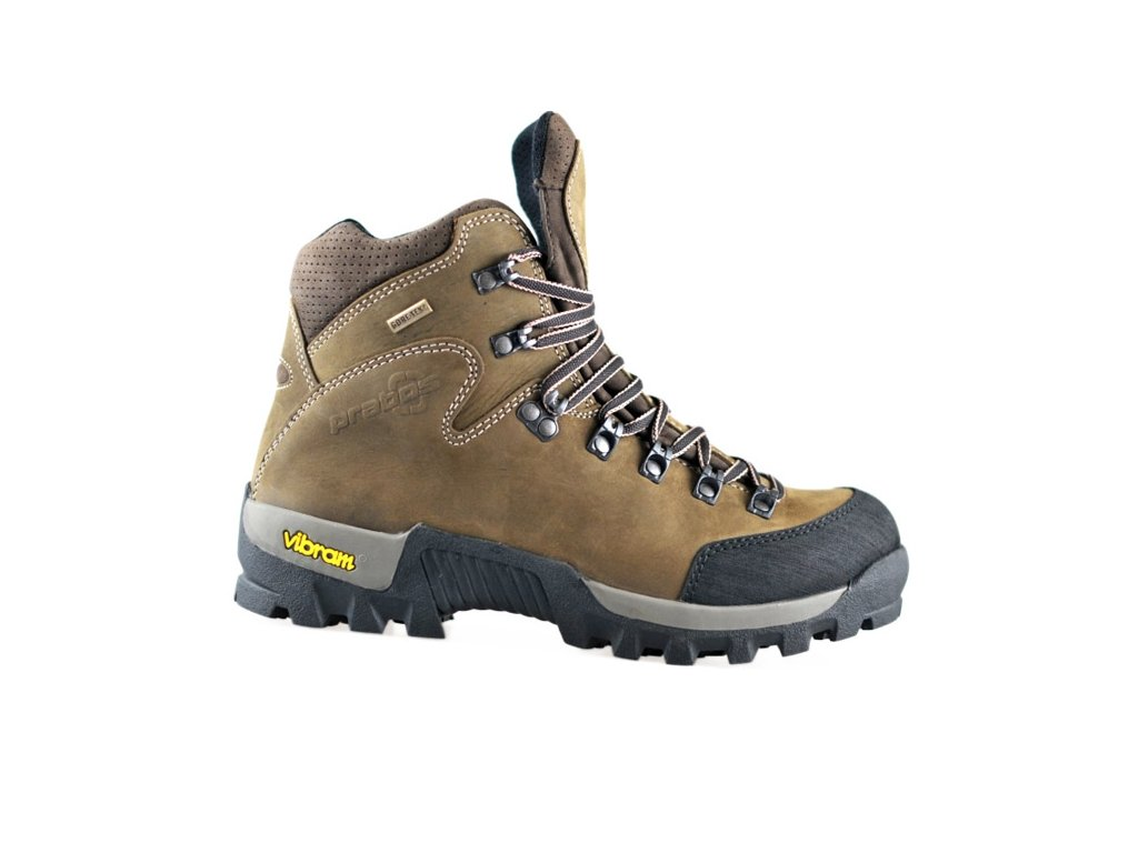 0534e3ef56e Trekové boty Prabos Condoriri GTX S10410 hnědé