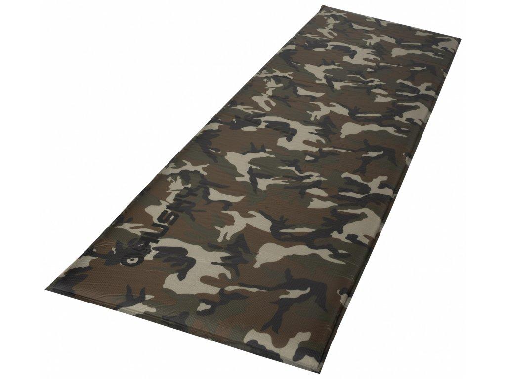 Husky Fuzy Army samonafukovaci karimatka khaki