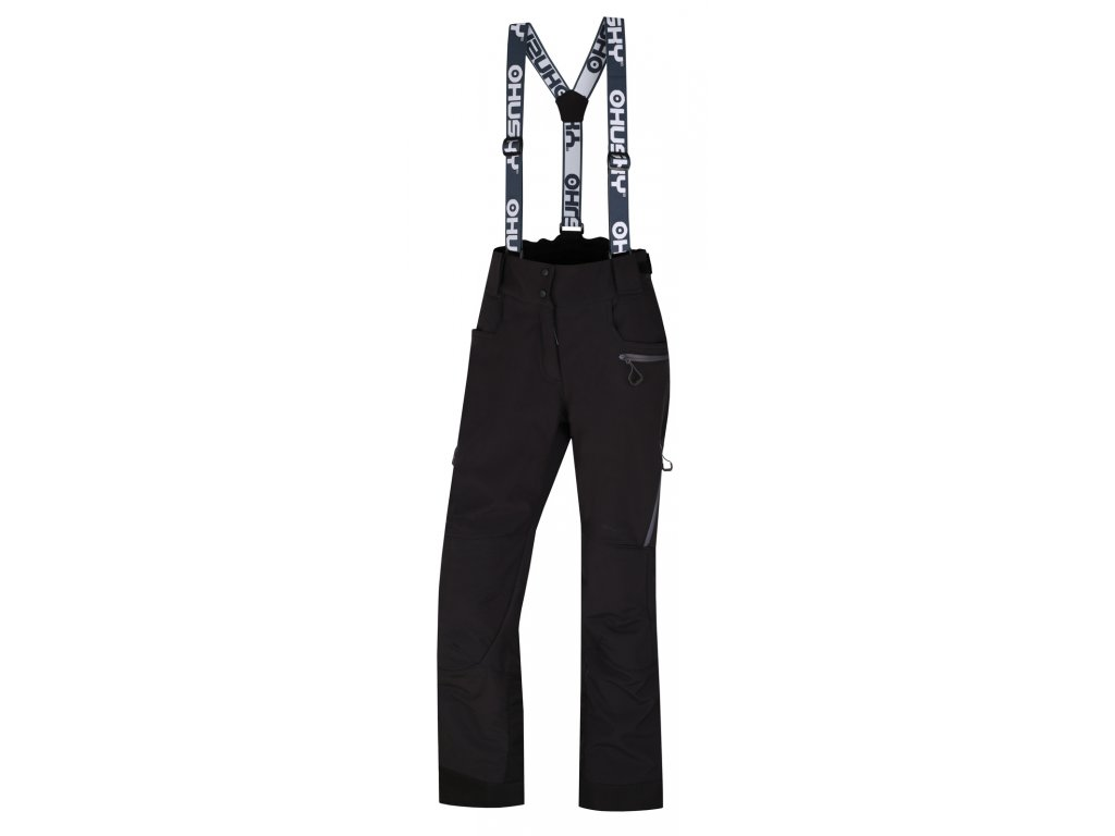 husky-galti-damske-lyzarske-kalhoty-cerne