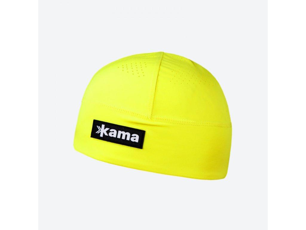 Kama A 87-102 běžecká čepice žlutá