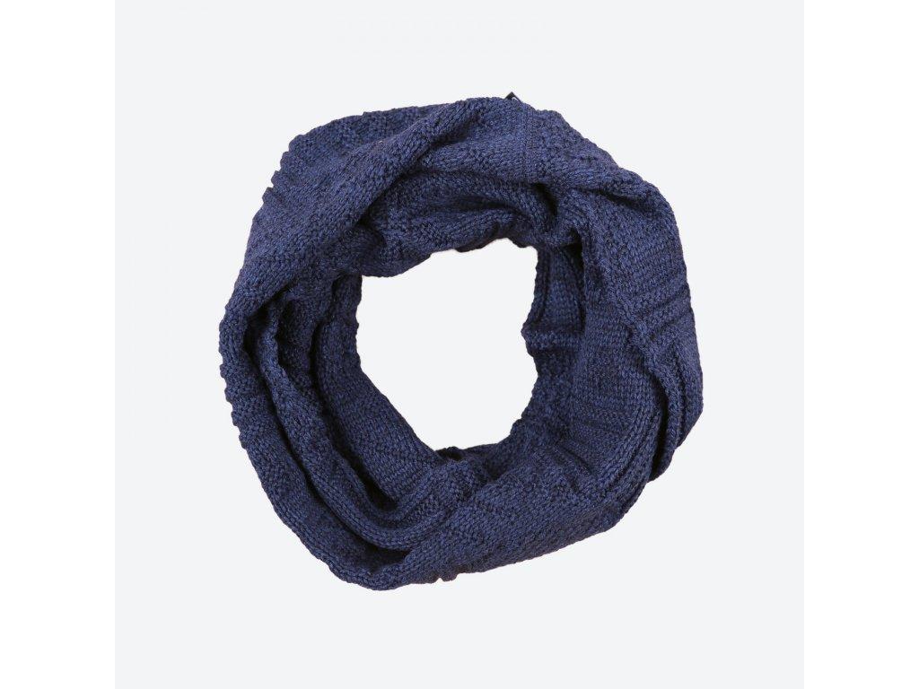 kama s 20 108 merino pletena sala tmave modra