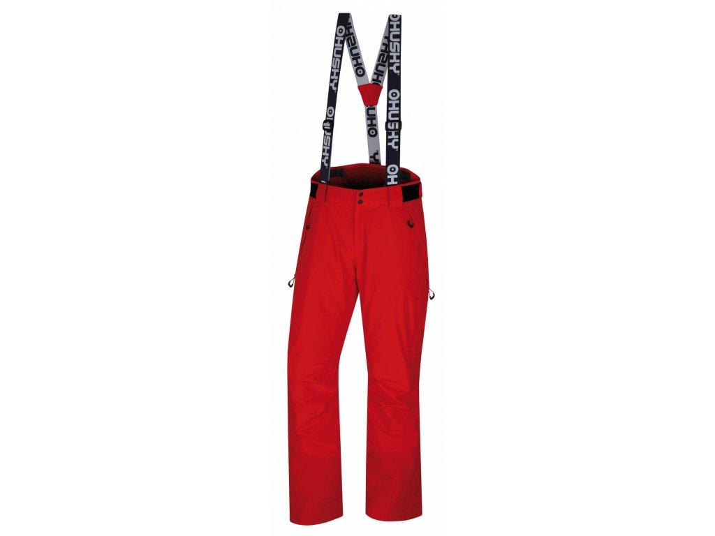 husky-mitaly-panske-lyzarske-kalhoty-cervene